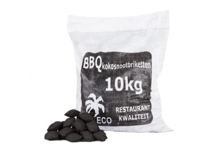 Coconut briquettes