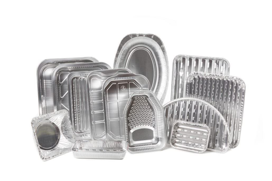 Aluminium (grill) trays and pots