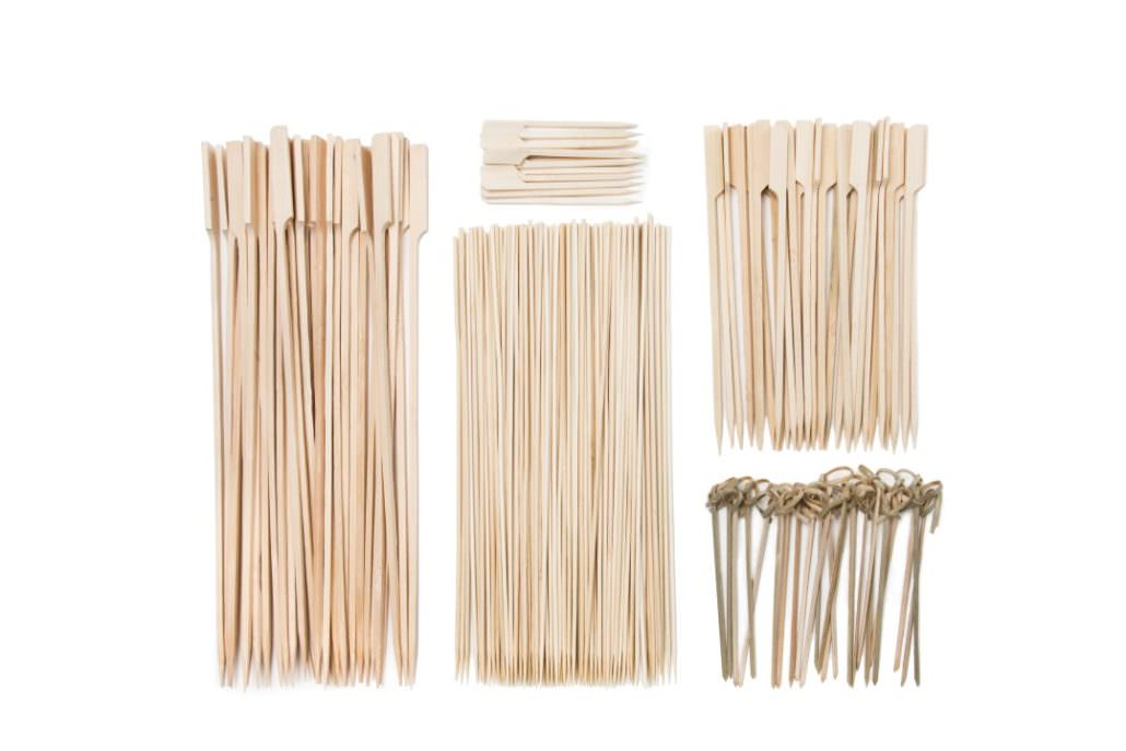 Pics bambou pour BBQ