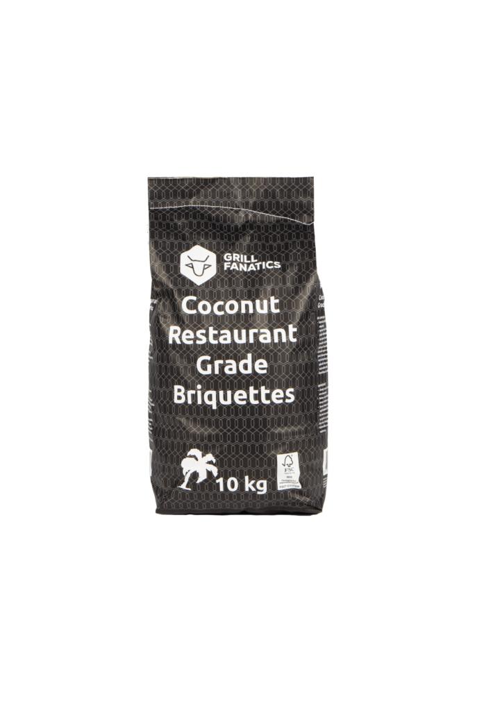 Grill Fanatics restaurant grade coconut briquettes