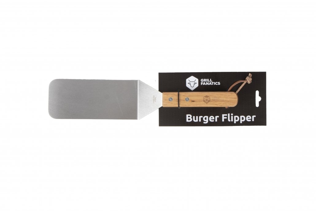 Grill Fanatics burger flipper